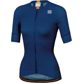 Sportful Bodyfit Pro Evo Maillot de cyclisme Femme, blue twilight gold